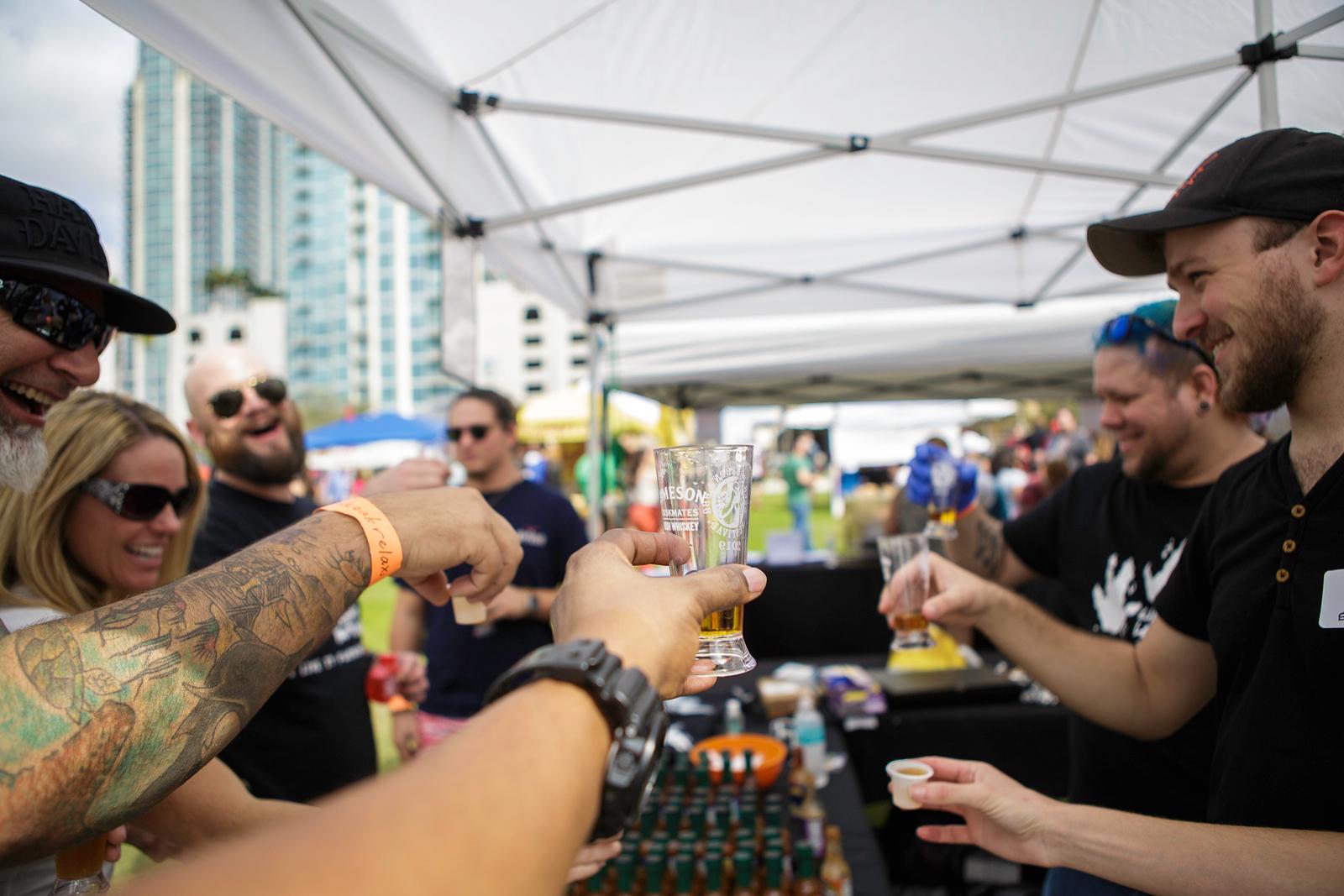 Beer Bourbon & BBQ Tampa 2019